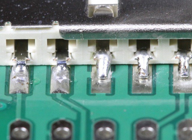 回流焊常见质量缺陷问题分析,焊锡飞溅物 20
