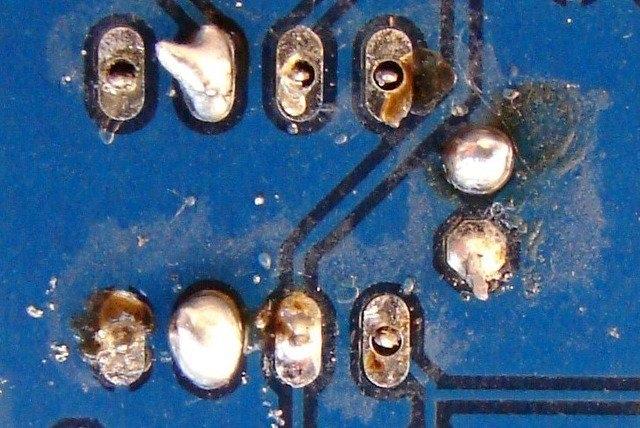 回流焊常见质量缺陷问题分析,焊锡飞溅物 44