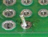 回流焊常见质量缺陷问题分析,焊锡飞溅物 24
